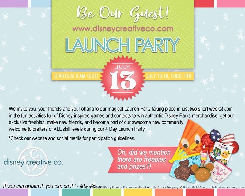 Launch Party announcement